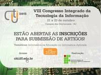 Chamada para o VIII Congresso Integrado da Tecnologia da Informação