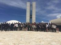 Aluno do Curso de Licenciatura em Geografia participa de estágio-visita em Brasília