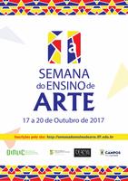 1ª.Semana do Ensino de Arte - IFF/SMECE