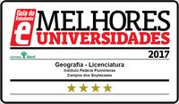 Licenciatura em Geografia: 04 estrelas no GE