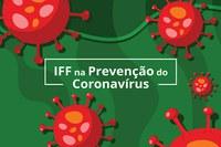 IFFluminense na prevenção do Coronavírus